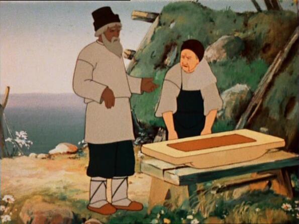 мультфильмы советские о рыбаке