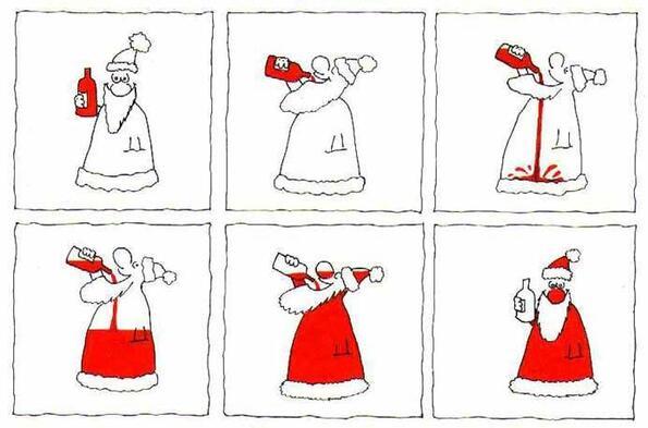 Как делать нос деда мороза