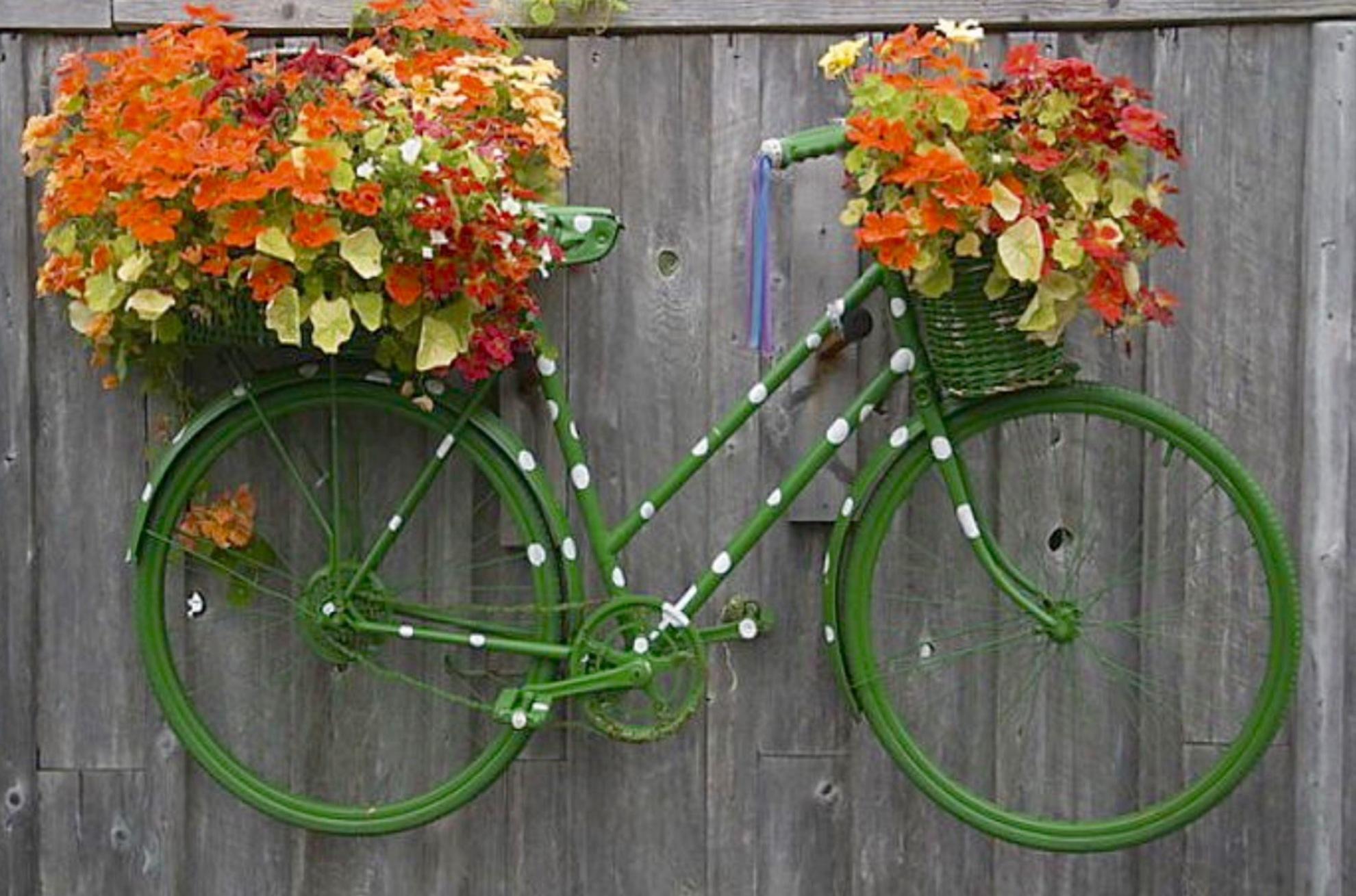 Поделки из велосипеда своими руками