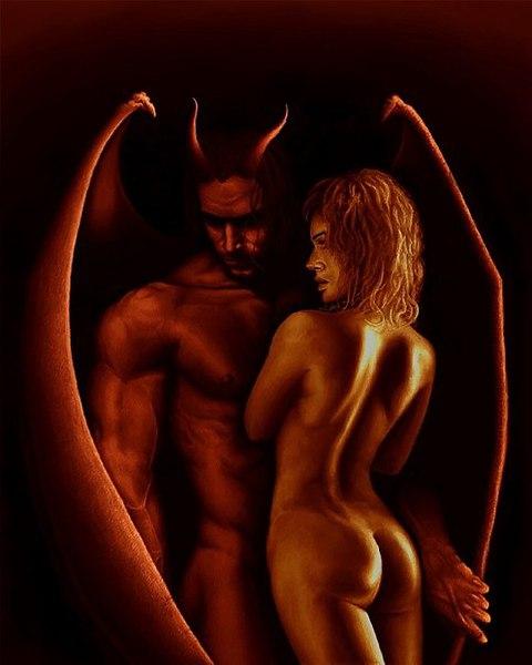 Игры секс с дьяволом