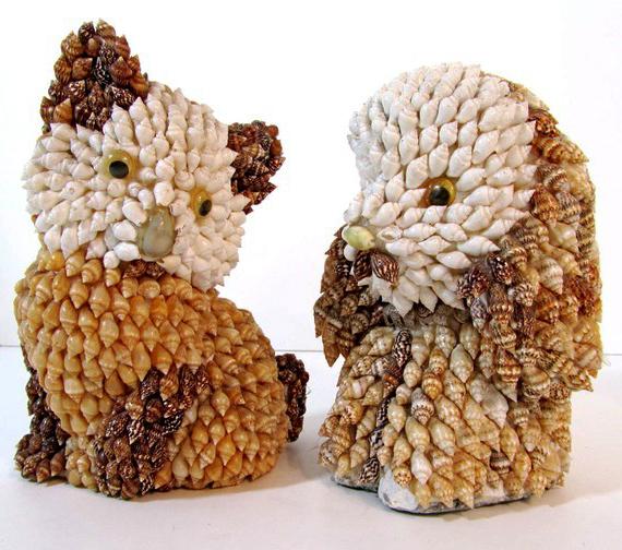 Поделка из ракушек своими руками животные