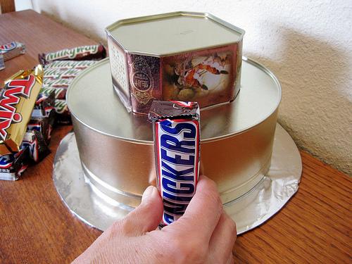 Как делать из шоколада торт