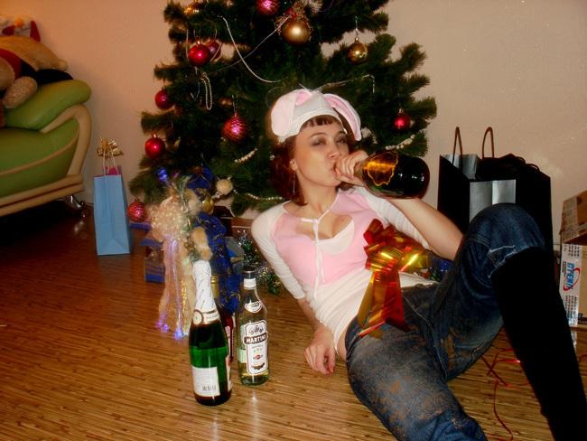 Для пьяной компании новый год