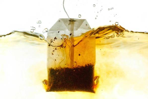 ink out of tea bags
