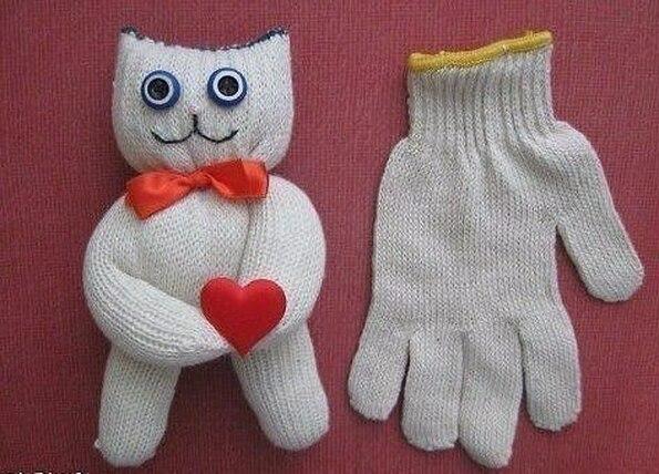 Мягкая игрушка поделка своими руками