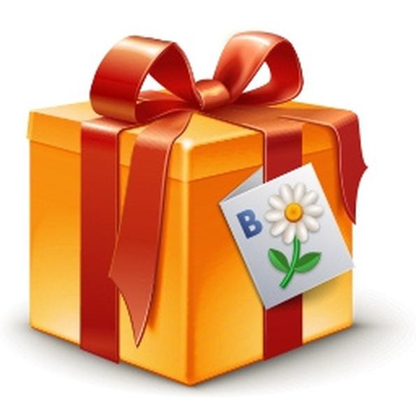 Как вконтакте сделать свой подарок