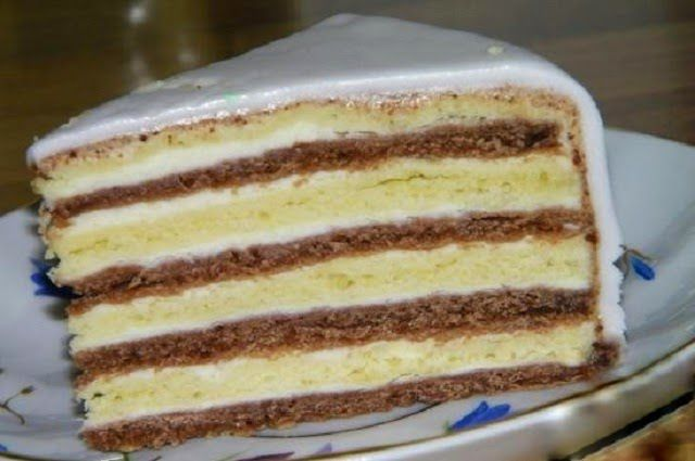 Рецепт торта мишка на севере с пошаговый