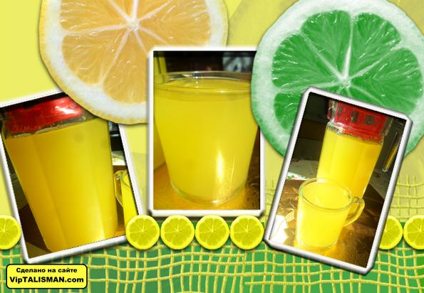 Как сделать из лимона освежающий напиток 410