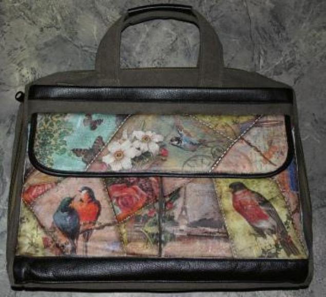 Мастер-класс сумочка