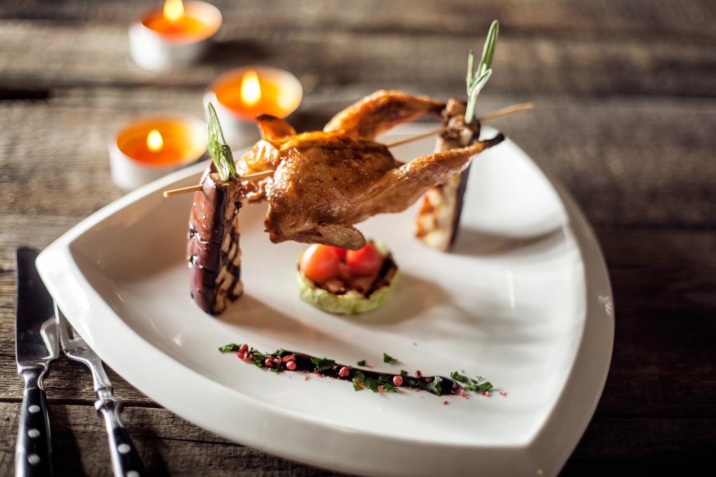 Креативная подача блюд в ресторанах