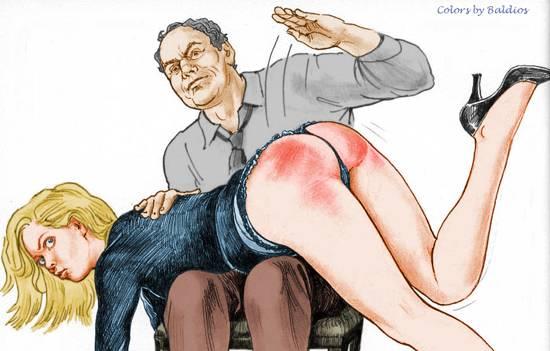 Наказание мужчин по жопе
