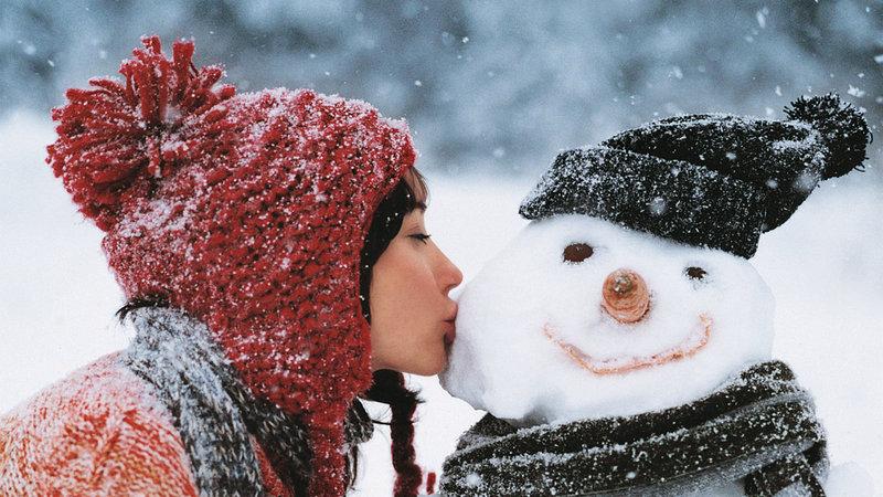 Фото зимы на аву