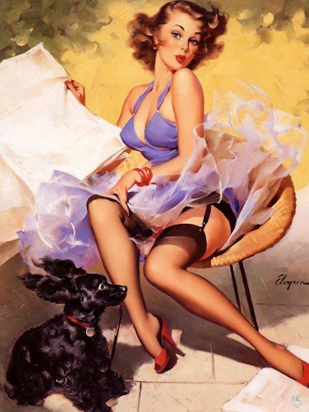 Рисунок девушка в чулках рисунок 13454 фотография
