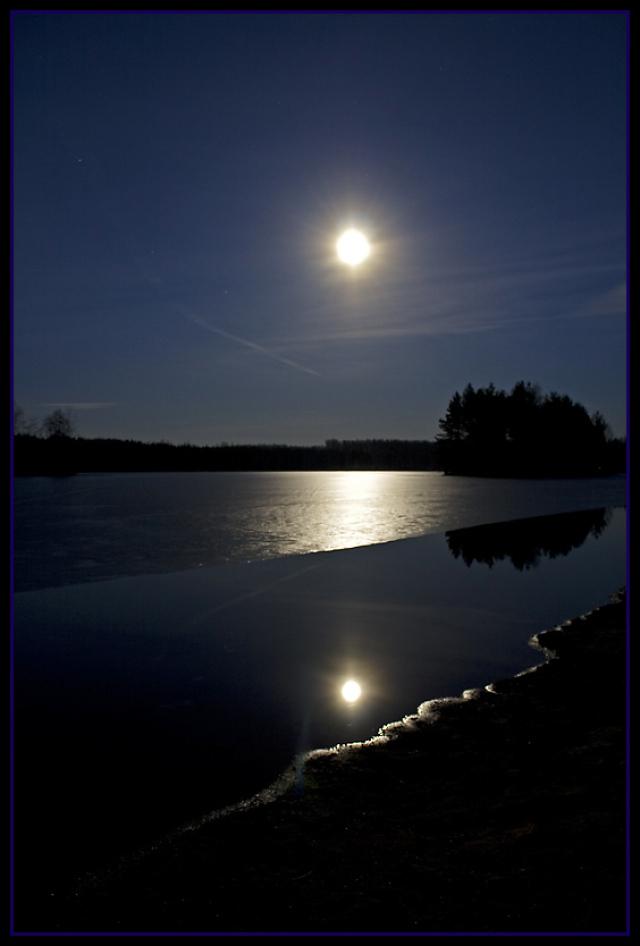 Лунный свет своими руками фото