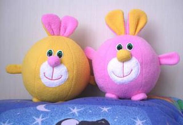 Мягкая игрушка своими руками для начинающих из ткани