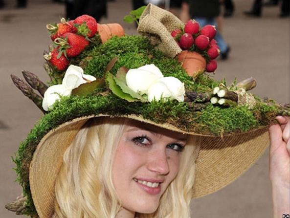 Шляпа фрукты своими руками 8