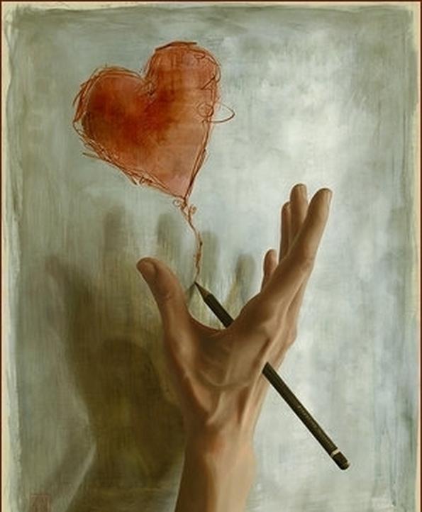 Я на руке твоей рисую