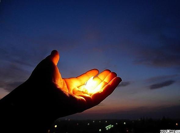 Подарю тебе тепло своих рук