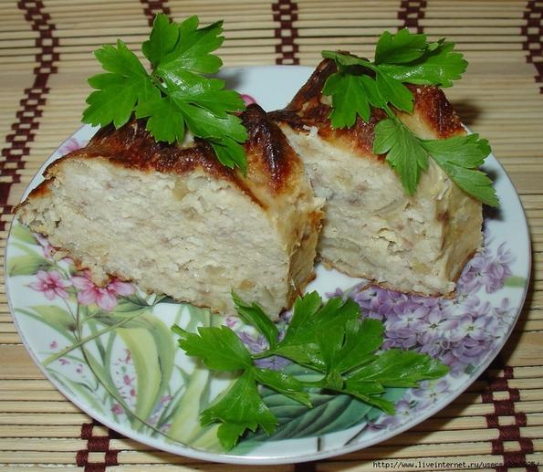 Рецепты рыбных запеканок с фото