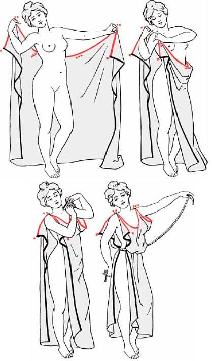 Греческий костюм своими руками из простыни 21