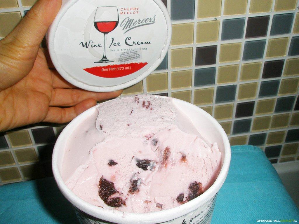 Мороженое из вина своими руками