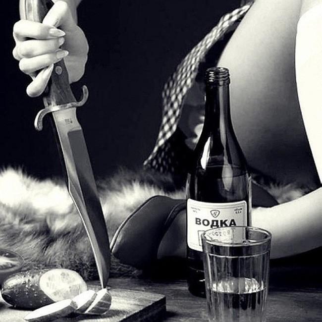 Картинки девушка с алкоголем и сигаретой