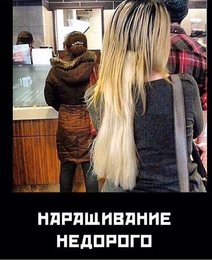 Демотиваторы с волосами