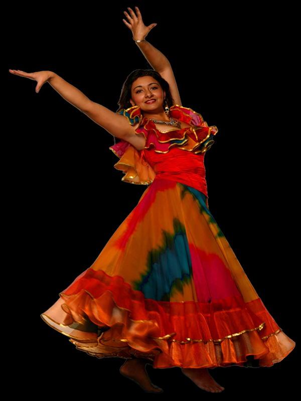 фото гифка цыганка танцует модные шапки для
