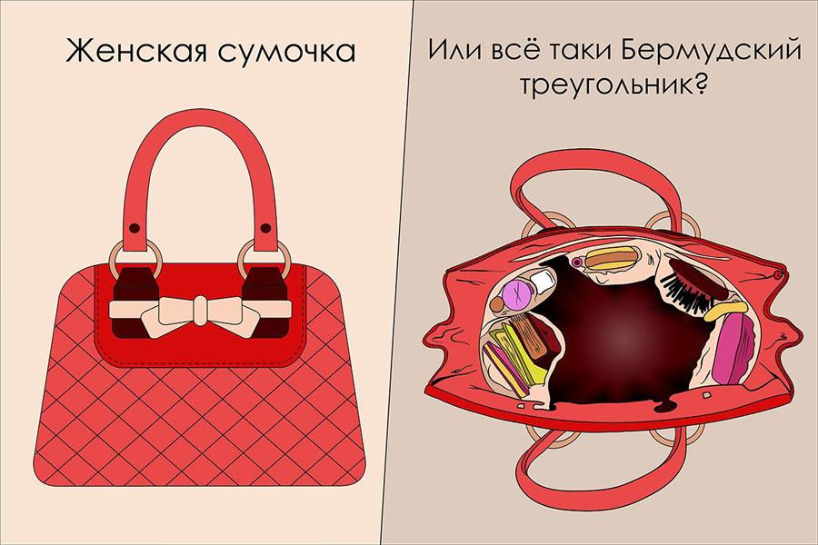 стихи про сумку женскую