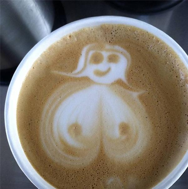 Открытку юбилей, прикольная картинка чашка кофе