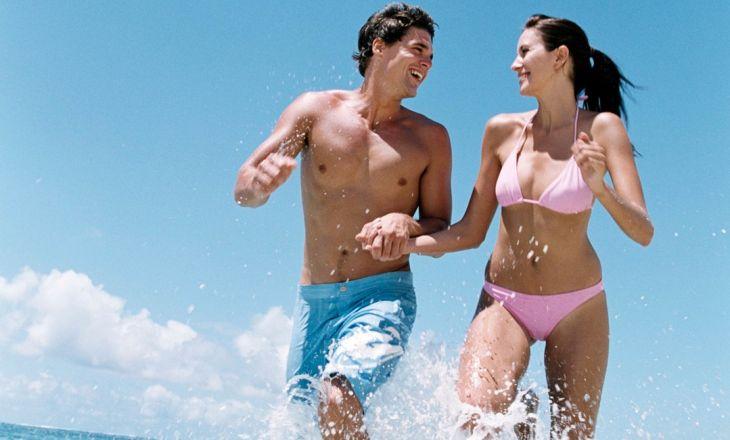 тайная любовь мужа и жены на пляже - 14