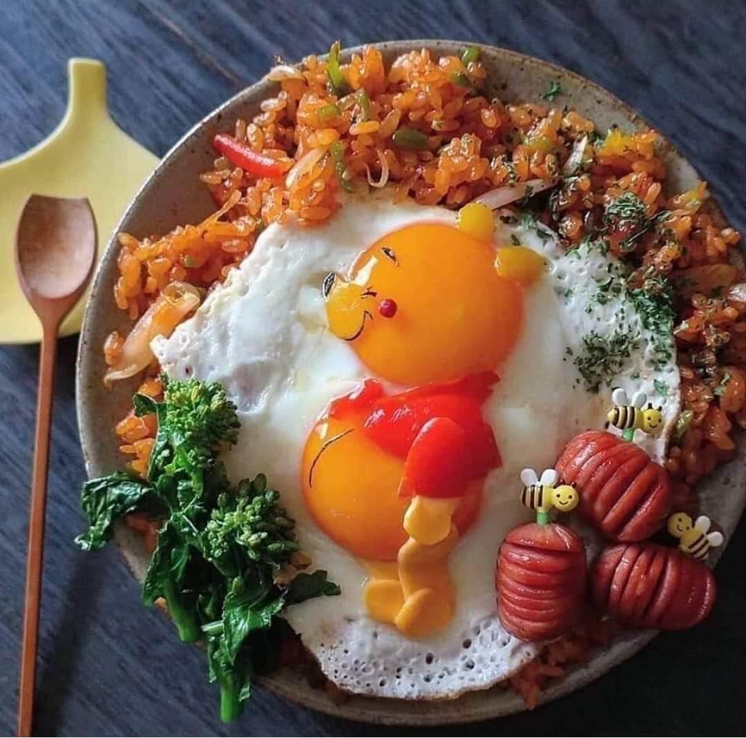 сих доброе утро картинки с юмором и едой вариант подобная фотосессия