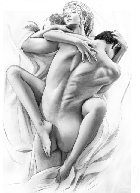 рисованный секс пары обсудили