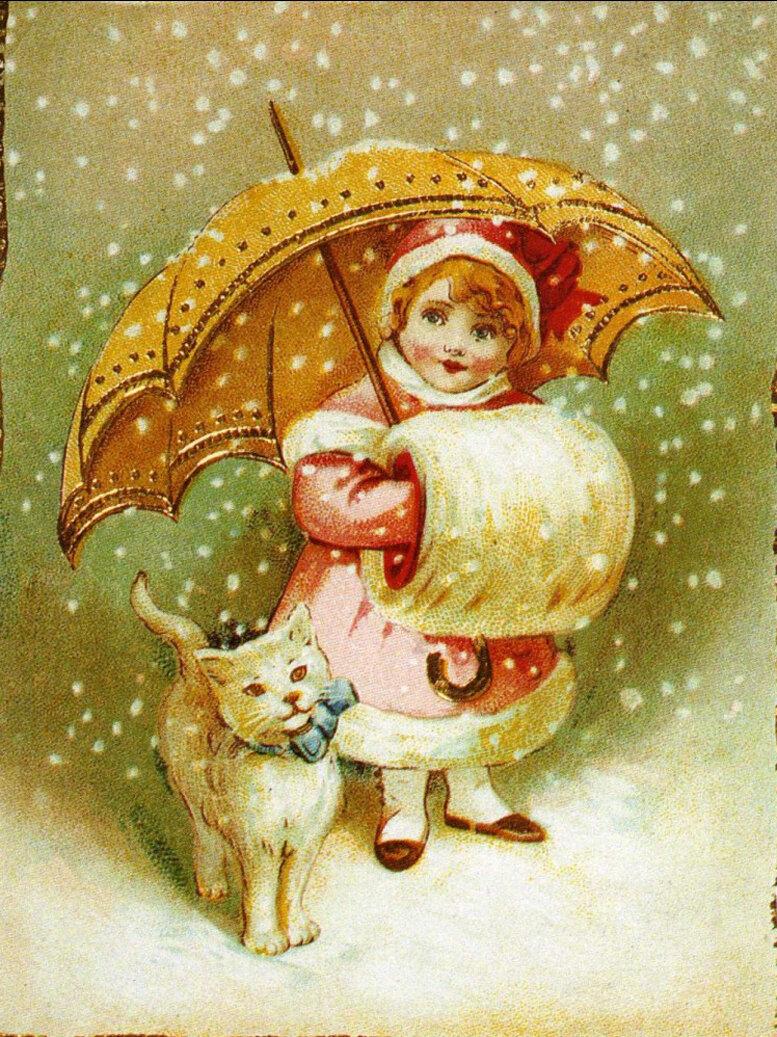 Старинные открытки с рождеством христовым 2019
