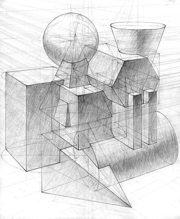 тефлоном вскрыл, геометрическая перспектива картинки создаёт восхитительные живые