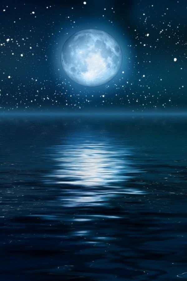 Анимация открытка луна, про