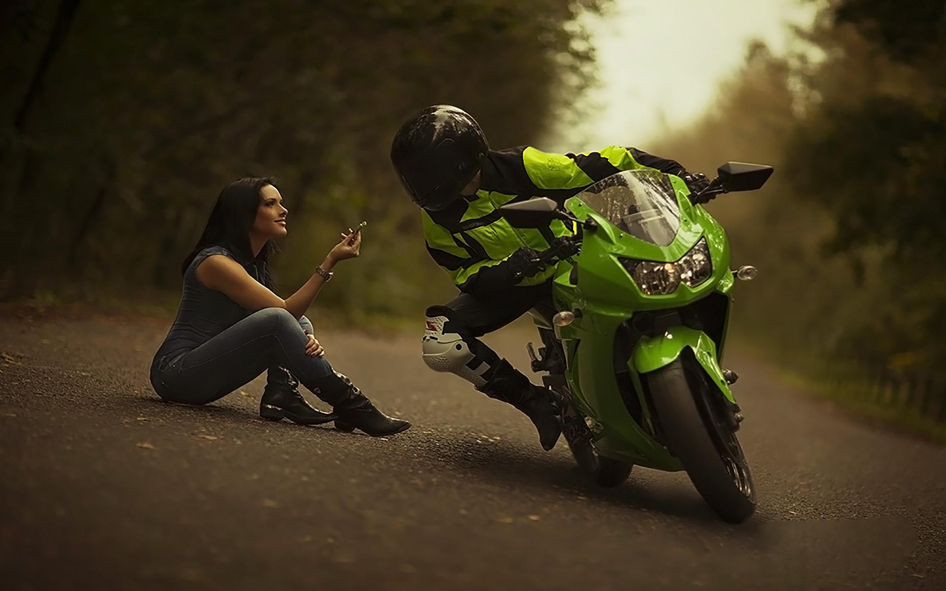 Видео открытка с мотоциклами, россии